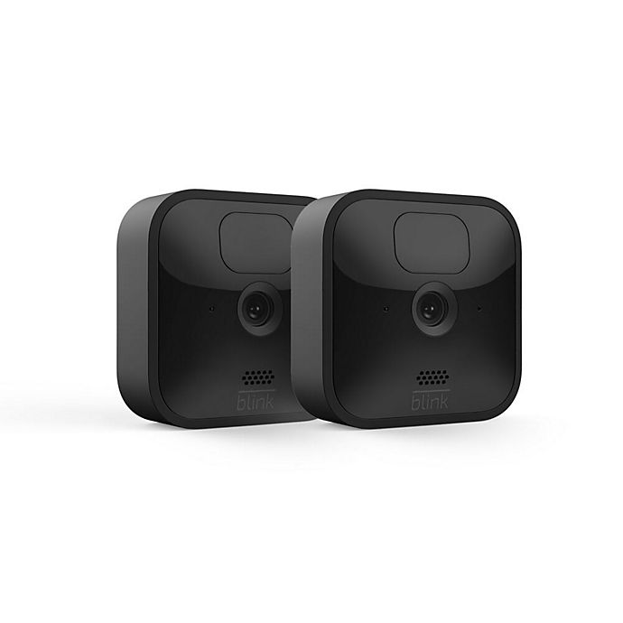 Alternate image 1 for Amazon Blink Outdoor XT2 2-Camera System in Black
