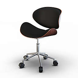 Simpli Home Marana Office Chair in Black