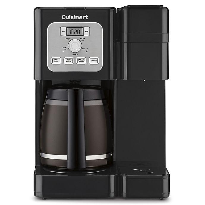 Alternate image 1 for Cuisinart® Coffee Center™ SS-12 Brew Basics Coffeemaker in Black