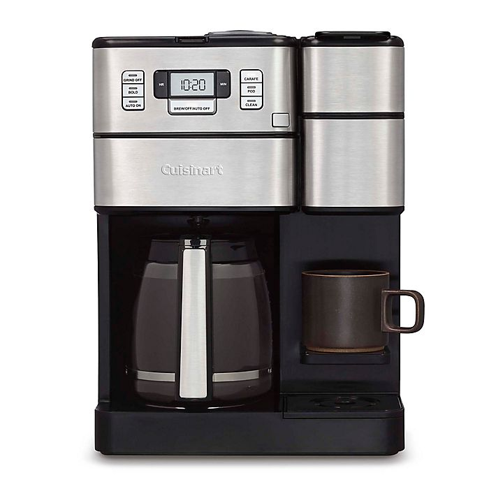 Alternate image 1 for Cuisinart® Coffee Center™ Grind & Brew Plus in Brushed Stainless Steel