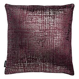 Safavieh Prenlia Square Throw Pillow in Purple/Silver