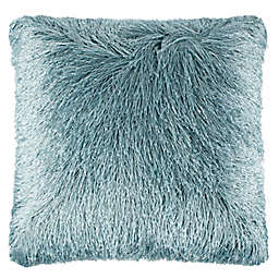 Safavieh Solid Shag Indoor/Outdoor Square Throw Pillow