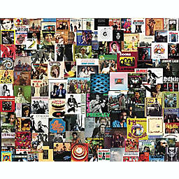 Hart Puzzles 1000-Piece Collage of Boomers' Favorite Albums Jigsaw Puzzle
