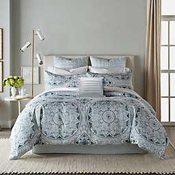 Canadian Living Mirabel 3-Piece Duvet Cover Set in Blue