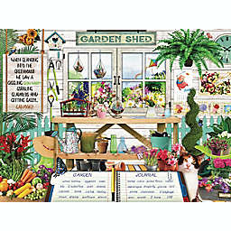 Hart Puzzles Seek & Find 500-Piece Garden Shed Jigsaw Puzzle