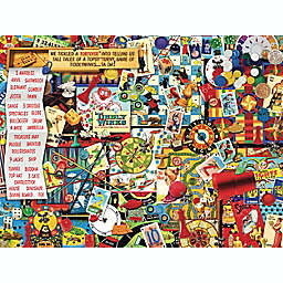 Hart Puzzles Seek & Find 500-Piece Retro Games Jigsaw Puzzle