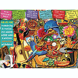 Hart Puzzles Seek & Find Puzzle Taking You Across Mexico 500-Piece Jigsaw Puzzle