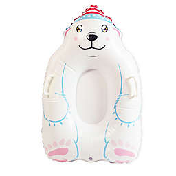 SnowCandy Inflatable Polar Bear Snow Sled