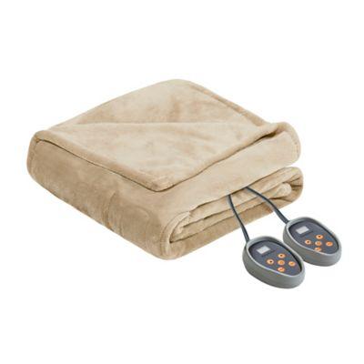 Beautyrest Microlight Berber Twin Electric Blanket Bedding