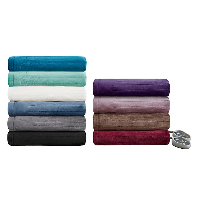 Alternate image 1 for Beautyrest® Plush Heated Blanket