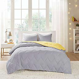 Intelligent Design Trixie 3-Piece King/California King Comforter Set in Grey