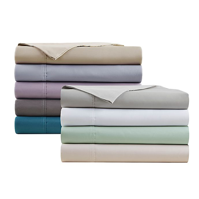 Alternate image 1 for Beautyrest® 600-Thread-Count Cooling Cotton Rich Sheet Set