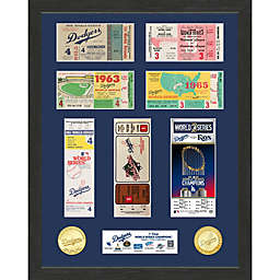 MLB Los Angeles Dodgers 7x World Series Champions Ticket Collection