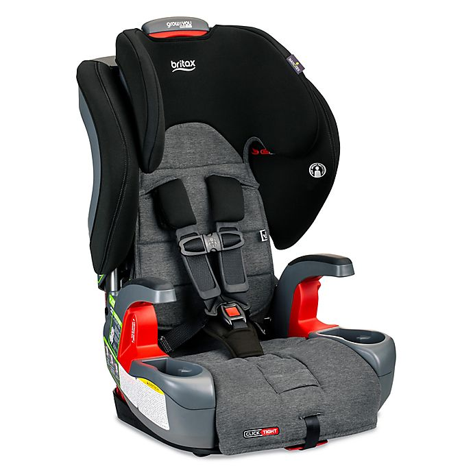 Alternate image 1 for Britax® Grow With You™ ClickTight® Harness-2-Booster Car Seat in Grey