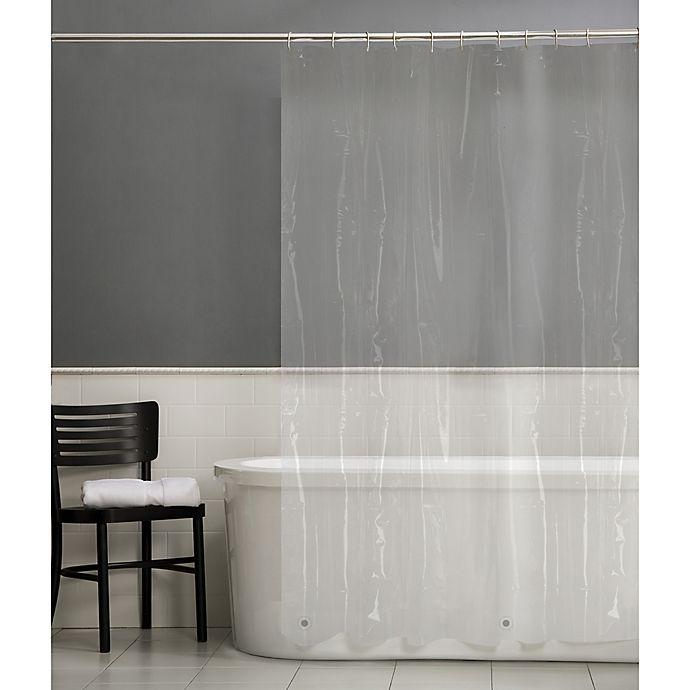Alternate image 1 for Simply Essential™ Lightweight PEVA Shower Curtain Liner