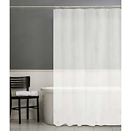 Simply Essential™ 70-Inch x 84-Inch Lightweight PEVA Shower Curtain Liner in Frost