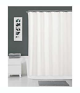 Forro para cortina de baño de algodón Haven™ de 1.77 x 1.82 m color blanco