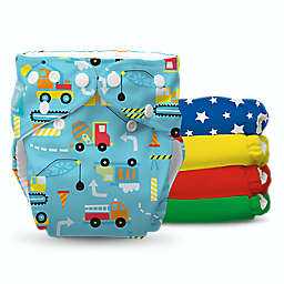 Charlie Banana® All-In-One One Size 10-Count Boy's Reusable Cloth Diapers w/ Inserts