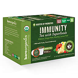 BareOrganics® Immunity Tea Pods for Single Serve Coffee Machines 12-Count