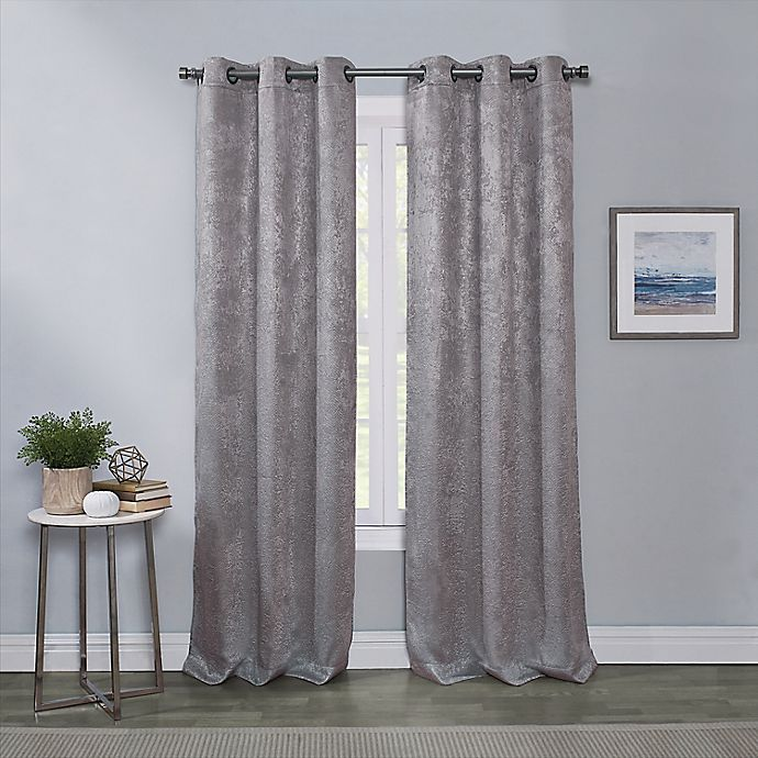Alternate image 1 for Townsend 2-Pack Grommet Room Darkening Window Curtain Panels