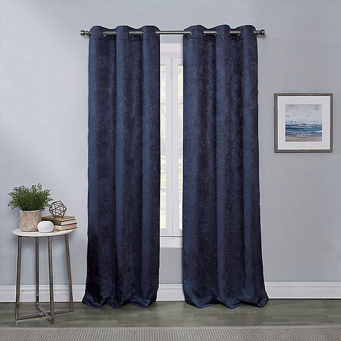 Alternate image 1 for Townsend 2-Pack Grommet Room Darkening Window Curtain Panels