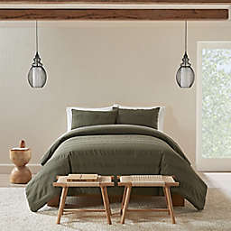UGG® Kane 2-Piece Twin Comforter Set in Burnt Olive