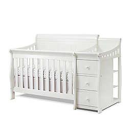 Sorelle Princeton Elite Panel Crib and Changer in White