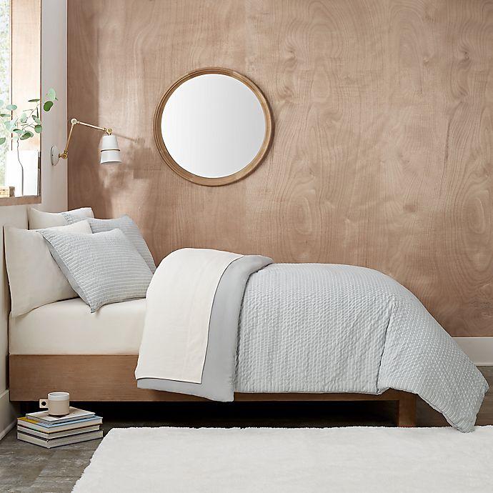 Alternate image 1 for UGG® Devon 2-Piece Reversible Twin/Twin XL Comforter Set in Grey