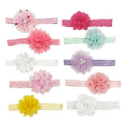 Curls & Pearls 10-Pack Spring Flower Headbands