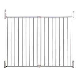 Dreambaby® Broadway Xtra-Wide Gro-Gate® with Track-It in White