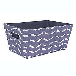 Taylor Madison Designs® Folkstone Tote Bin in Blue/White