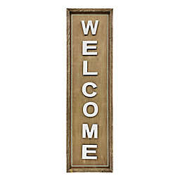 """Bee & Willow™ Home 48-Inch """"Welcome"""" Wooden Sign"""