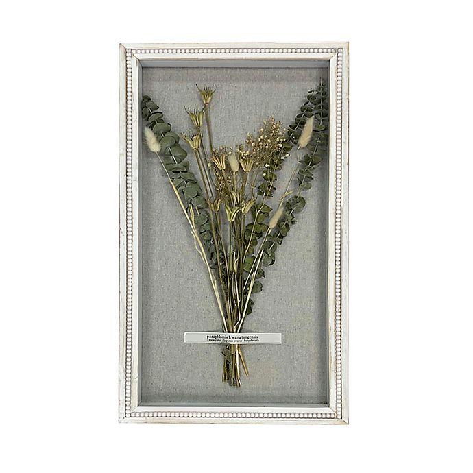Alternate image 1 for Bee & Willow® Wildflowers & Eucalyptus Shadow Box