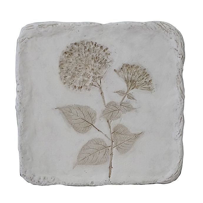 Alternate image 1 for Bee & Willow™ Home Wild Poppy Botanical 11-Inch x 11-Inch Wall Plaque in White