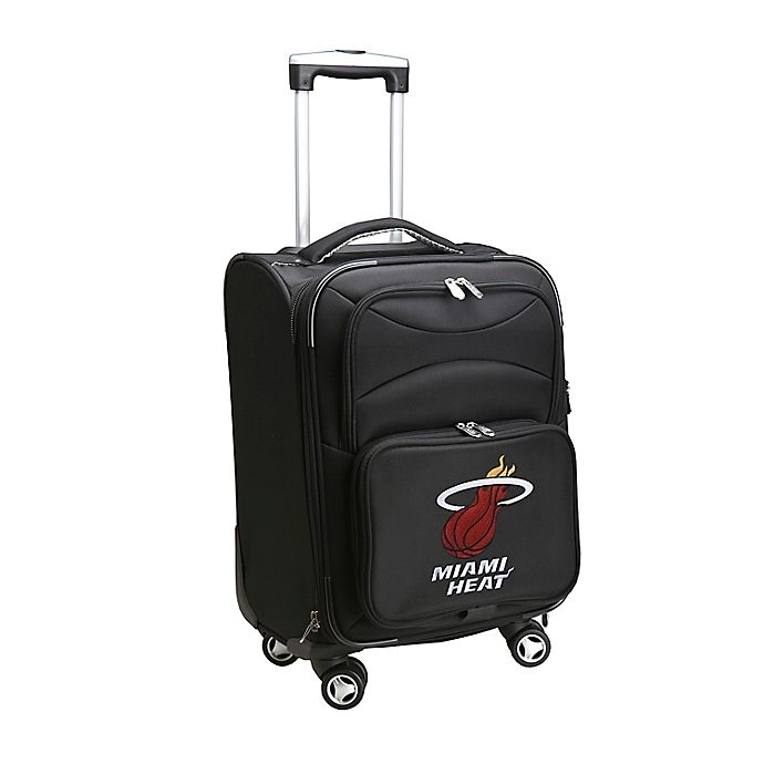 Alternate image 1 for NBA Miami Heat 20-Inch Carry On Spinner
