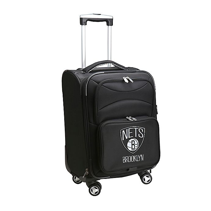 Alternate image 1 for NBA Brooklyn Nets 20-Inch Carry On Spinner
