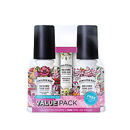 Poo-Pourri® Before-You-Go® Spring 3-Pack Toilet Spray Value Set