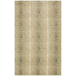 Mohawk Home® 4' x 6' Prismatic Antelope Skin Area Rug in Brown