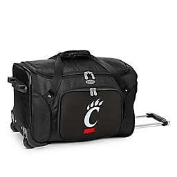 University of Cincinnati 22-Inch Wheeled Carry-On Duffle Bag