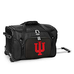 Indiana University 22-Inch Wheeled Carry-On Duffle Bag