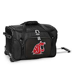 Washington State University 22-Inch Wheeled Carry-On Duffle Bag