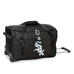 MLB Chicago White Sox 22-Inch Wheeled Duffel Bag
