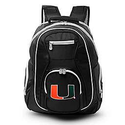 University of Miami Laptop Backpack