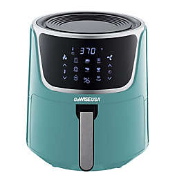 GoWISE USA 7 qt. Air Fryer with Dehydrator in Mint/Silver