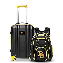 Baylor University Backpack and 21-Inch Hardside Spinner Carry On Luggage Set