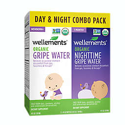 Wellements® Organic Day & Night Gripe Water Combo Pack