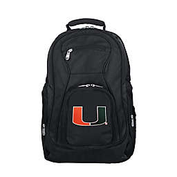 Mojo Premium University of Miami 19-Inch Laptop Backpack
