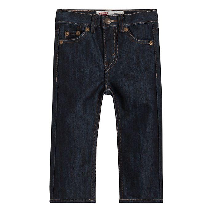 Alternate image 1 for Levi's® 511 Slim Fit Denim Pant in Midnite Bacano
