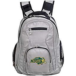 North Dakota State University Laptop Backpack in Grey