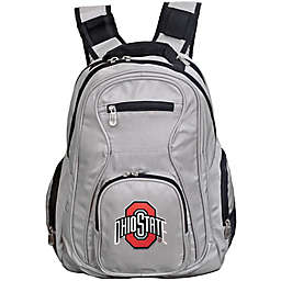 Ohio State University Laptop Backpack in Grey